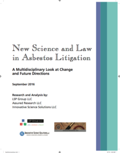 New Science and Law in Asbestos Litigation